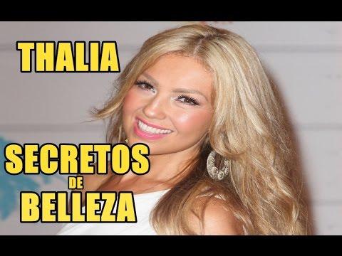12 SECRETOS DE BELLEZA DE THALIA - YouTube 6daac9283111