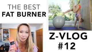 THE BEST FAT BURNER EVER!! - ZVLOG#12