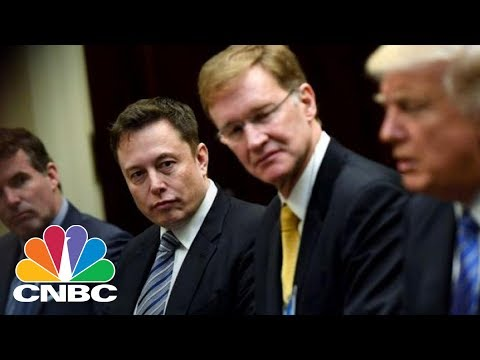 Thumbnail: Elon Musk: We'll Leave White House Councils If US Leaves Paris Accord | Power Lunch | CNBC