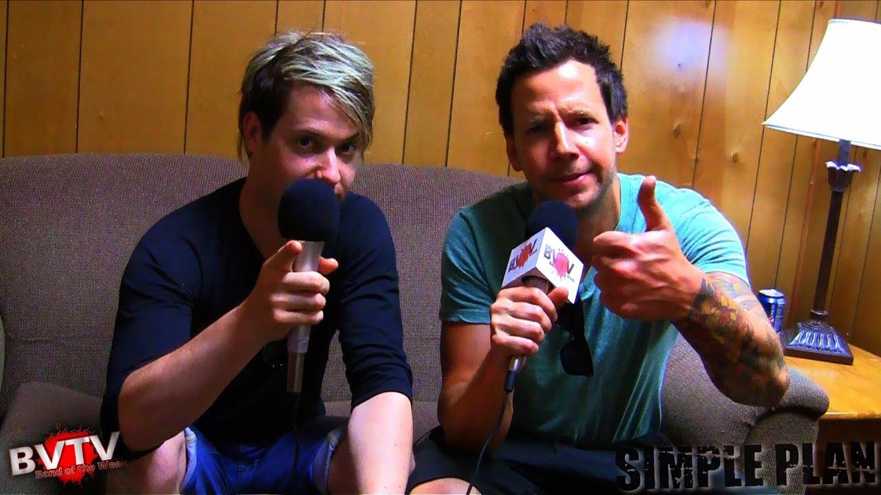 Simple Plan Interview at Warped Tour 2011 - BVTV
