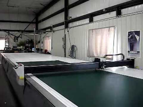 Baraboo Tent and Awning Precision Fabric Cutting.wmv & Baraboo Tent and Awning Precision Fabric Cutting.wmv - YouTube