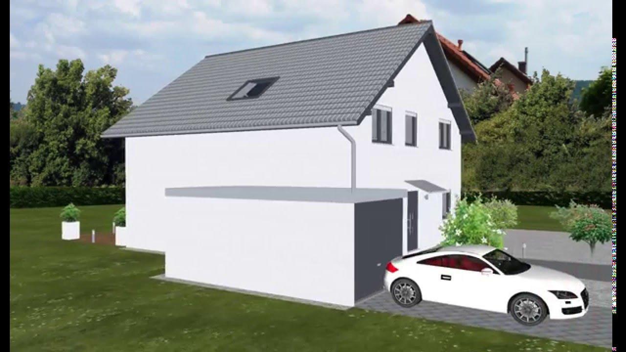WOLF-HAUS geplant von EMI-SUPPORT Einfamilienhaus 160 qm - YouTube