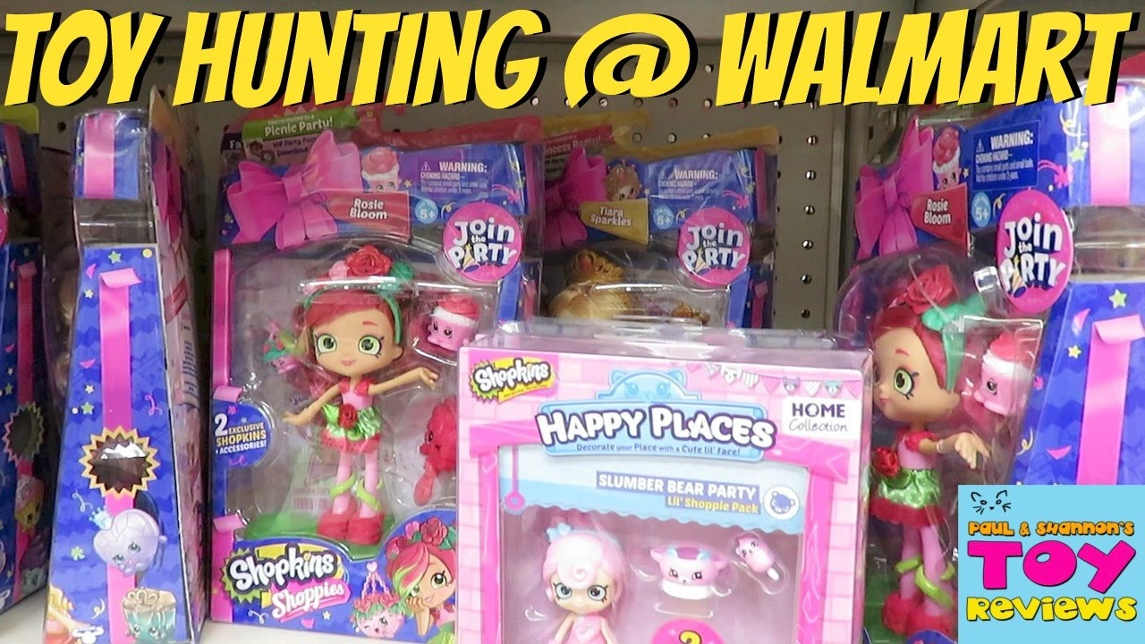 Toy Hunt Hunting Walmart Shopkins My Life Num Noms