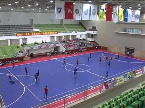 1st Cross Straits Tchoukball Invitational  - Opening and the 1st match