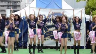 2015年4月29日(祝・水)京セラドームのBsStageで球団応援歌SKYのダンス...