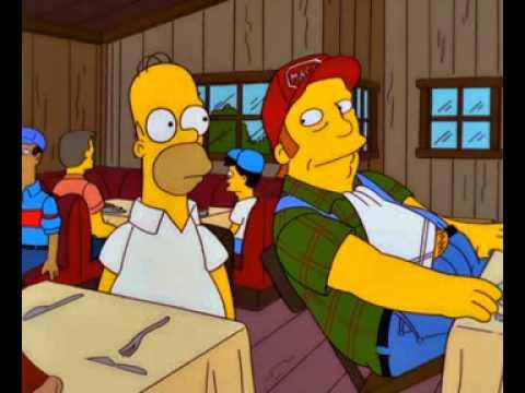 Los Simpson - es usted, es tony randall (castellano)
