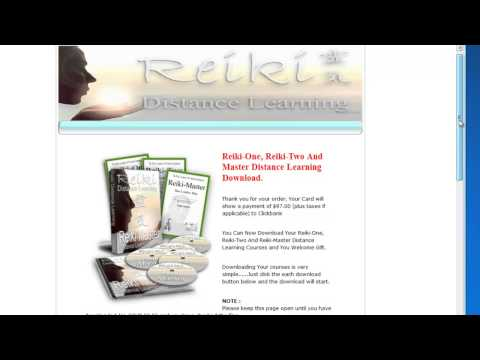Reiki Books Review of the Usui Reiki Distance Learning Course