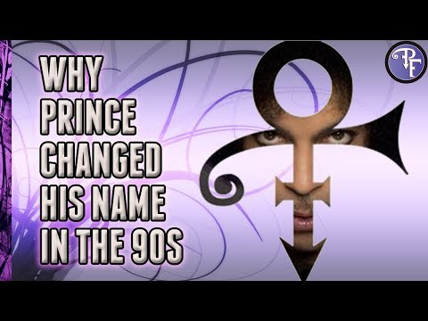 Prince: The Artist Formerly Known As Prince Name Change Explained