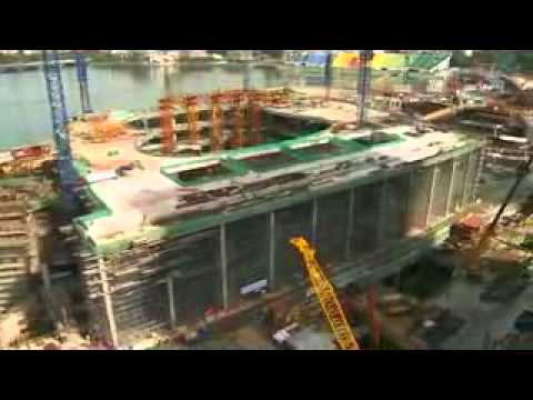 Marina Bay Sands Construction Video