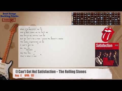 How To Play Satisfaction by The Rolling Stones on Guitar (intro riff ...