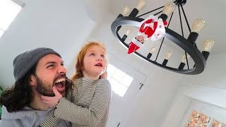 Hidden Letters To Santa Adley Finds Our Christmas Elf Snow And The Family Plays A New Game