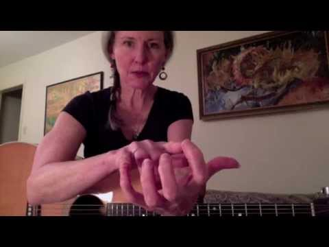 How to make your fingers reach chord shapes on the guitar