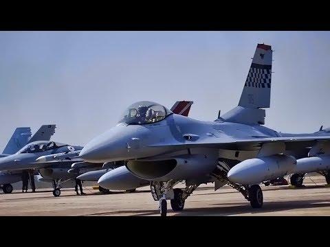 U.S. Fighter Jets Go To Thailand For Cobra Gold 18