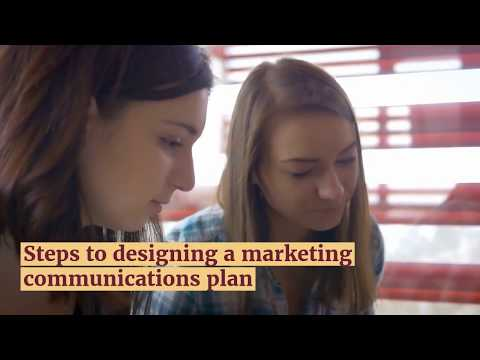 Steps To designing A Marketing Communications Plan