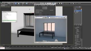 Фишки архитектурной визуализации в 3ds max-vray: шторы и затухающие отражения.