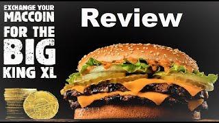 Burger King Big King XL Review