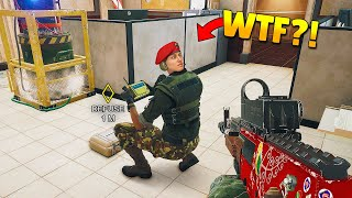 RAINBOW SIX SIEGE FAILS: #63 (Rainbow Six Siege Random Moments)