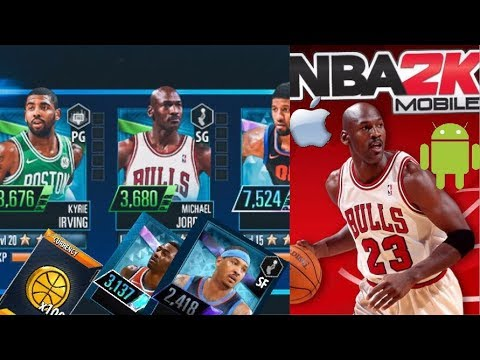 nba 2k mobile how