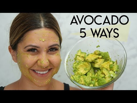 5 Avocado Masks That Will Change Your Life - And All The Benefits!