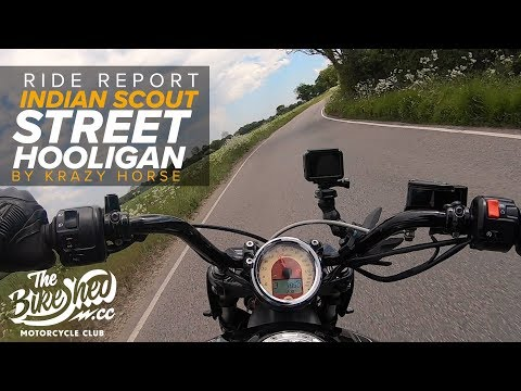 Ride Report: Indian Scout 'Street Hooligan' by Krazy Horse