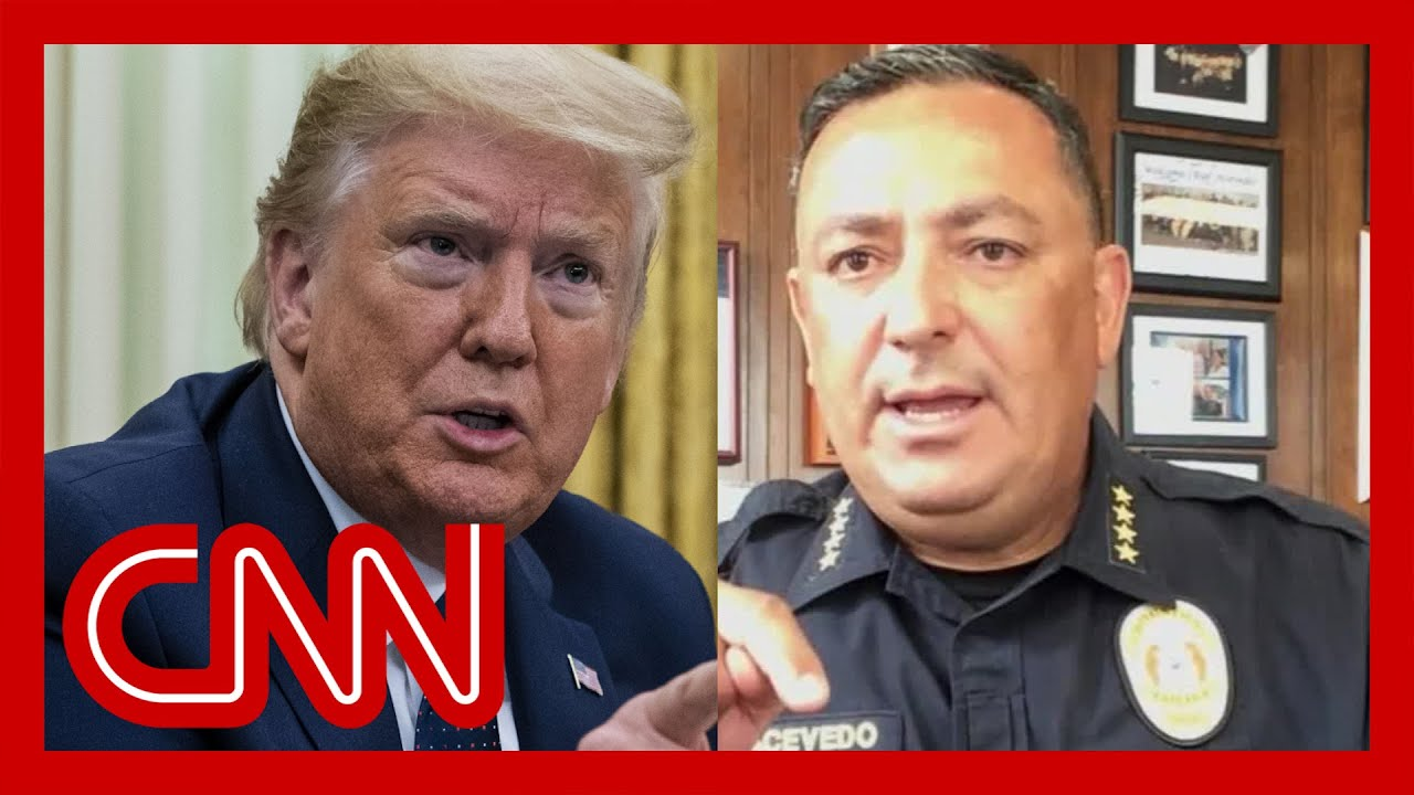 Police chief to Trump: Please, keep your mouth shut if you can't be constructive