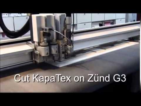 Verarbeitung von KAPA auf einem Zünd G3 Digital Cutter