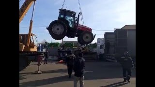 Ремонт трактора Massey Ferguson 6475 Моисей Фергюсон с двигателем Perkins 1106C E60TA Луцк Херсон(, 2016-02-11T15:01:07.000Z)