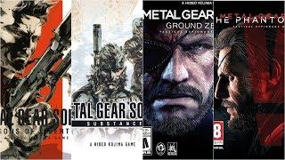 [HD] Metal Gear Solid Xbox Evolution (2001-2015)