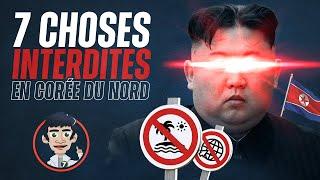 7 Choses interdites en Corée du Nord