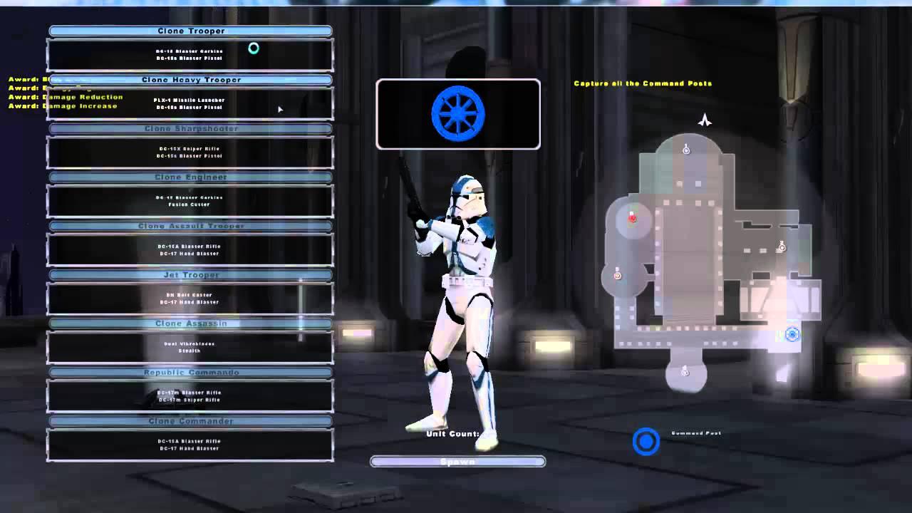 Tutorial: Star Wars Battlefront 2 Conversion Pack, Extreme Mod und 1.3 Patch installieren