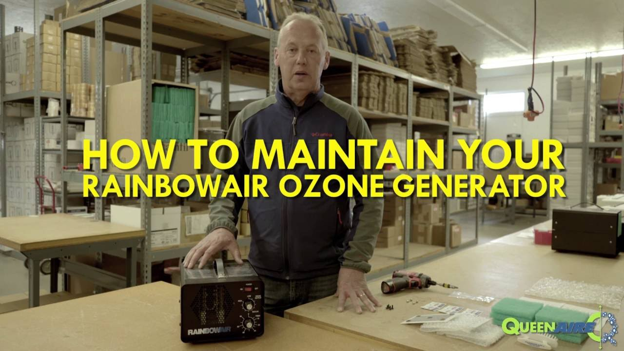 How to Maintain your Rainbowair Ozone Generator