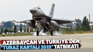"""""""Turaz Kartalı 2019"""" Tatbikatı Azerbaycan'da Devam Ediyor"""
