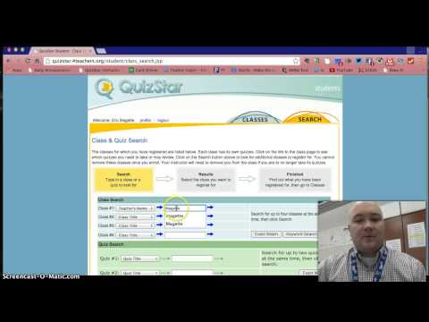 Registering with QuizStar