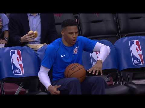 Russ Another Dance On The Bench! Crazy! Just Watch!