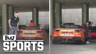 Ben Simmons Hops Out the Ferrari with Tinashe | TMZ Sports