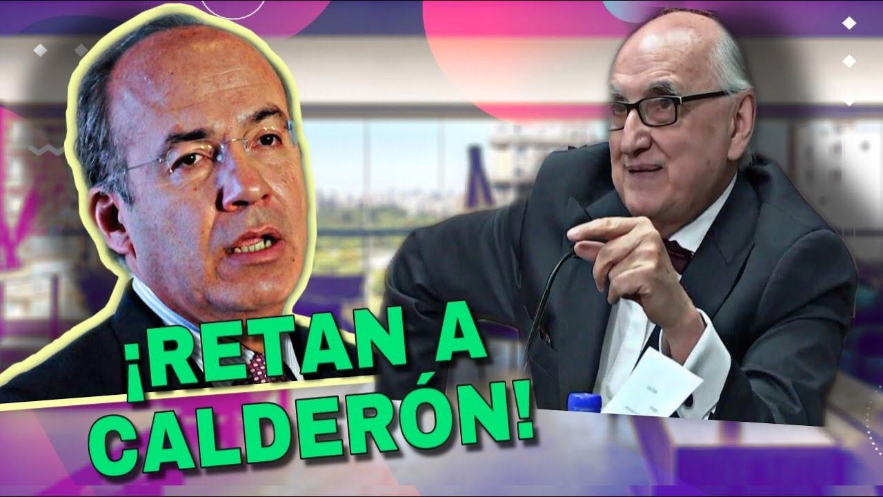 """""""Lo noto muy dañado"""" Jalife reta a Calderón a hacerse un examen médico, lo ve como un caso clínico"""