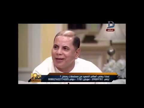 وفاء عامر تهرب من الاجابة علي المشهد المحذوف من مسلسل نسر الصعيد