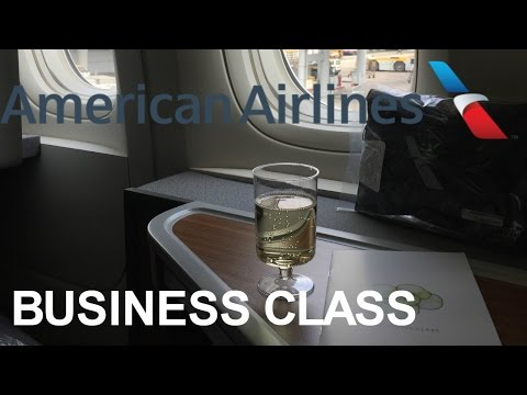 American Airlines Business Class 777-300ER New York JFK to London Heathrow