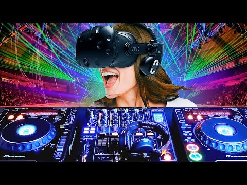 Learn How To DJ In 10 Minutes In VR!
