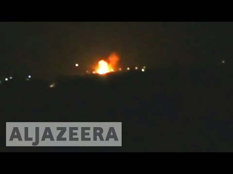 Syria accuses Israel of bombing military site near Damascus