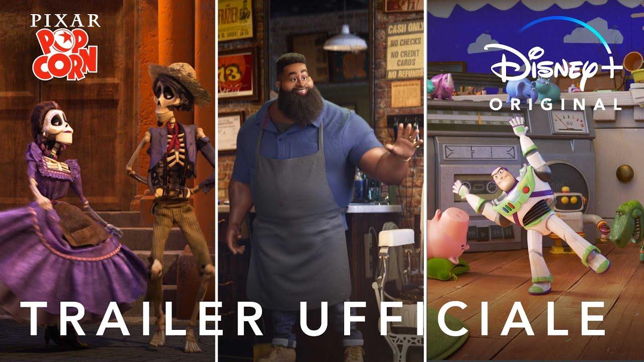 Disney+ | Pixar Popcorn - Corti Originali in Streaming dal 22 Gennaio