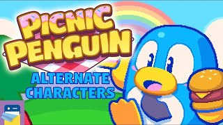 Picnic Penguin: Alternate Characters & iOS / Android Gameplay (by Neutronized)