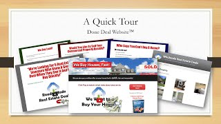 Real Estate Investor Websites - Motivated Seller, Wholesale Buyer and more