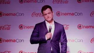 Taron Egerton Action Star of the Year at CinemaCon