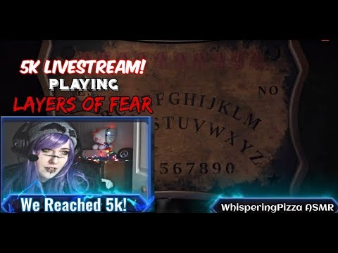 5k Livestream! Playing Layers of Fear!