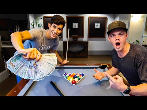 Download Youtube: $10,000 BET ON A GAME OF POOL