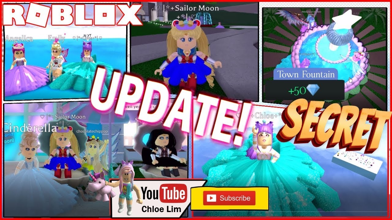 Roblox Royale High Earth Update Secret Areas In Royal High
