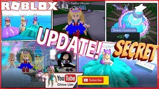 Roblox 🏰 Royale High 🏰 Earth UPDATE! Secret Areas in Royal High & Earth! Sailor Moon - LOUD WARNING!