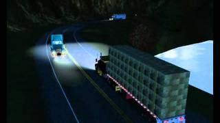 Repeat youtube video 18 Wheels Of Steel haulin Map mexico Usa Canada Alaska V4.5 By ernst