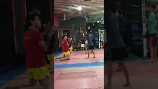 First day at Krudar Muay Thai